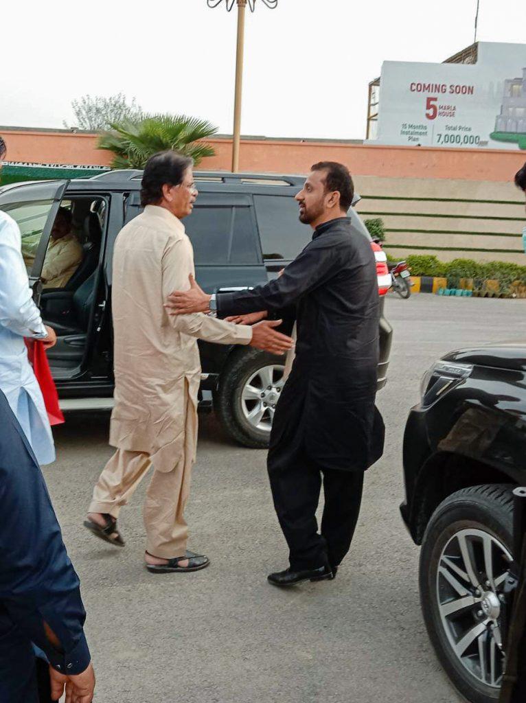 Mr. Rashid Ashraf Gondal along with Mr. Hanif Awan